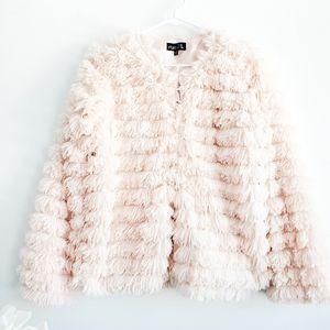 Rue21 Pink Eyelash Jacket